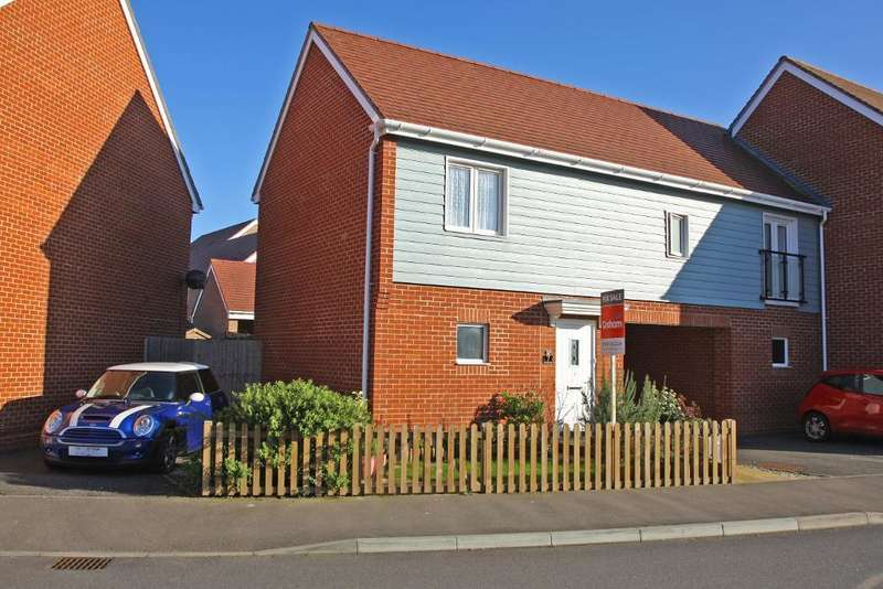 2 Bedrooms End Of Terrace House for sale in Wood Hill Way, Felpham, Bognor Regis, West Sussex, PO22 8GJ