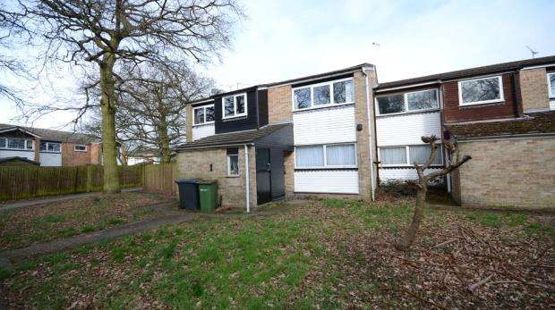 2 Bedrooms Maisonette Flat for sale in Wallace Close, Woodley, Reading