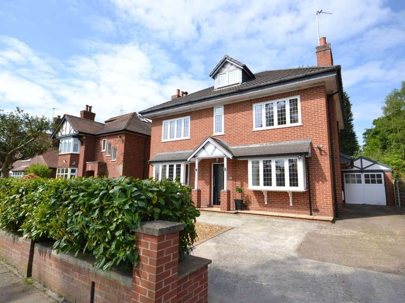 5 Bedrooms Detached House for sale in Ryles Park Road, Macclesfield