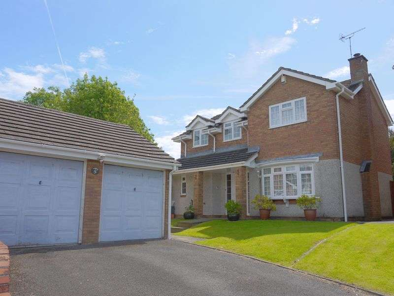 4 Bedrooms Detached House for sale in Hexham Close, Swindon