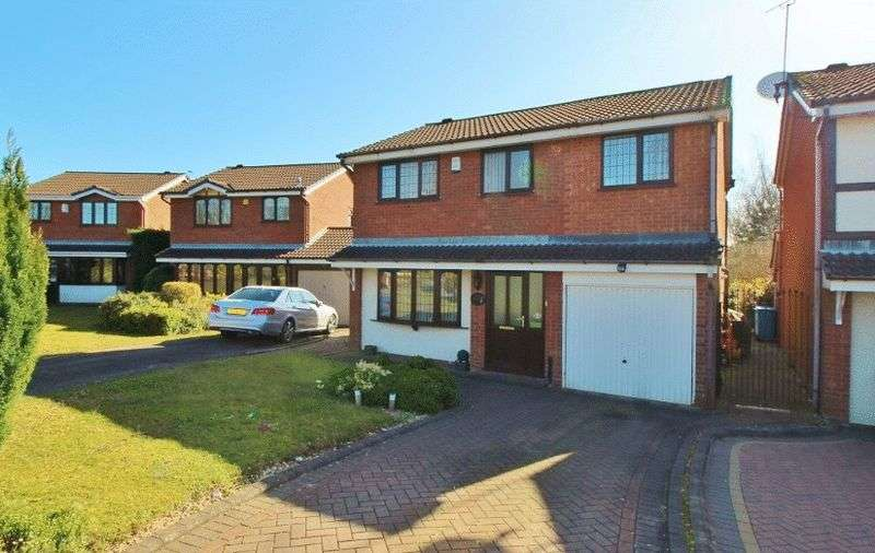 4 Bedrooms Detached House for sale in Larchmere Drive, Essington