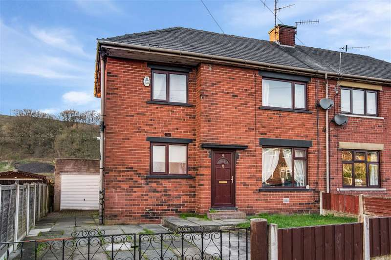 3 Bedrooms Semi Detached House for sale in Melrose Avenue, Littleborough, OL15 9JD