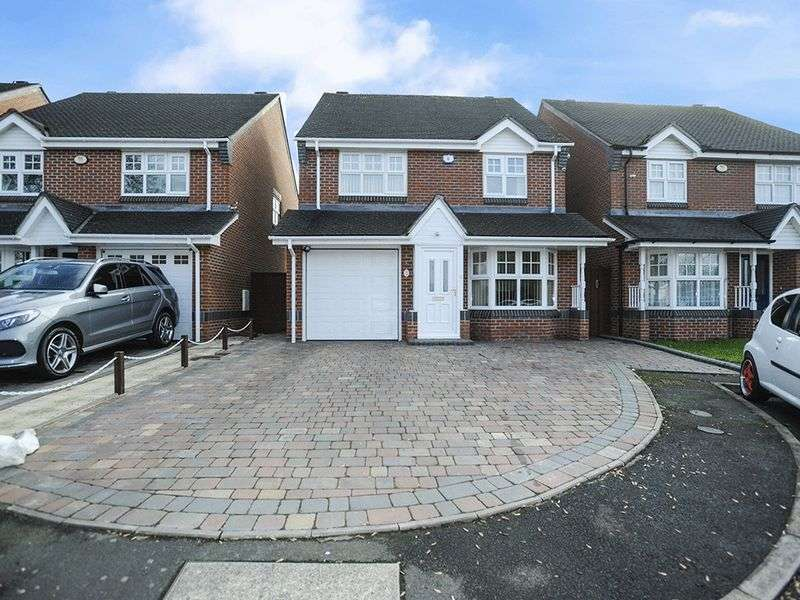 4 Bedrooms Detached House for sale in Fieldfare Road, Stourbridge