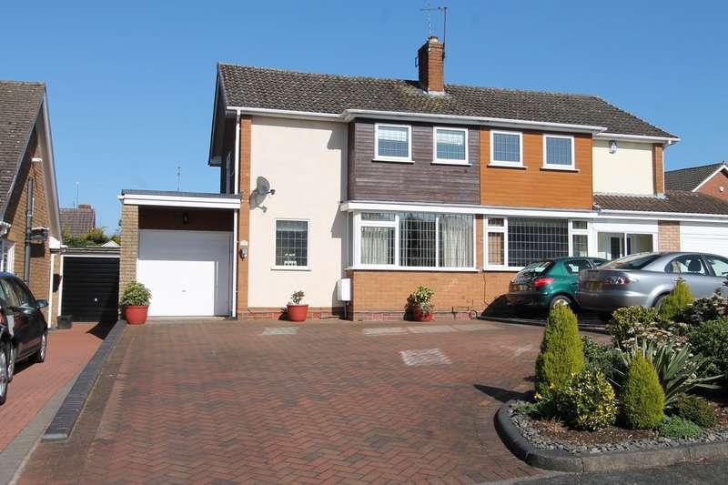 3 Bedrooms Semi Detached House for sale in Bank Farm Close, Pedmore, Stourbridge, DY9