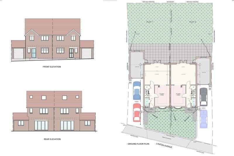 3 Bedrooms Semi Detached House for sale in Plot 2, Lynton Avenue, Wolverhampton