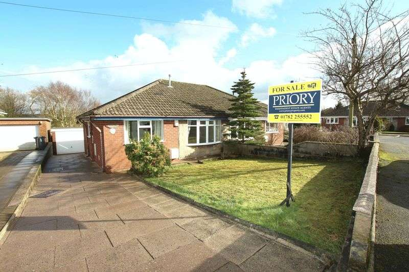 2 Bedrooms Semi Detached Bungalow for sale in James Way, Biddulph
