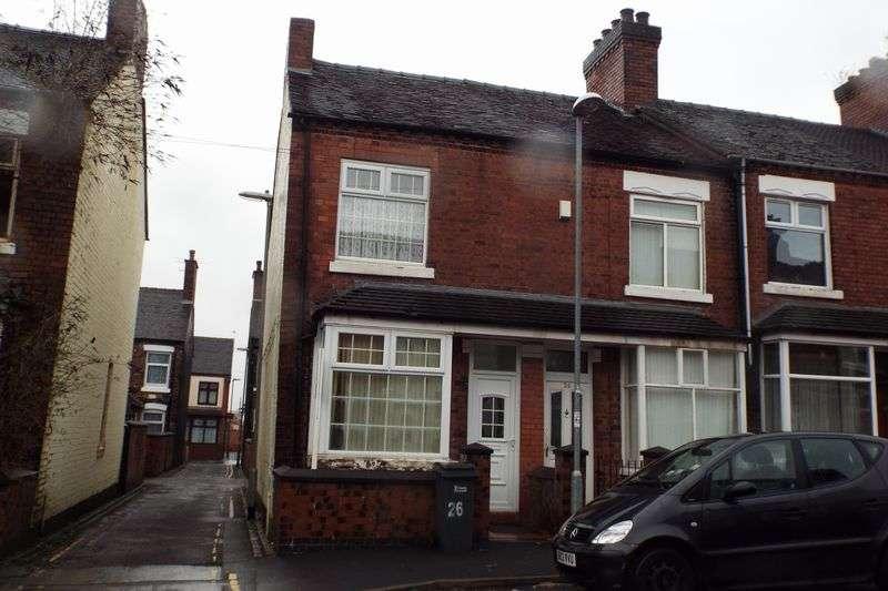 2 Bedrooms Terraced House for sale in Chamberlain Street, Shelton, Stoke-On-Trent