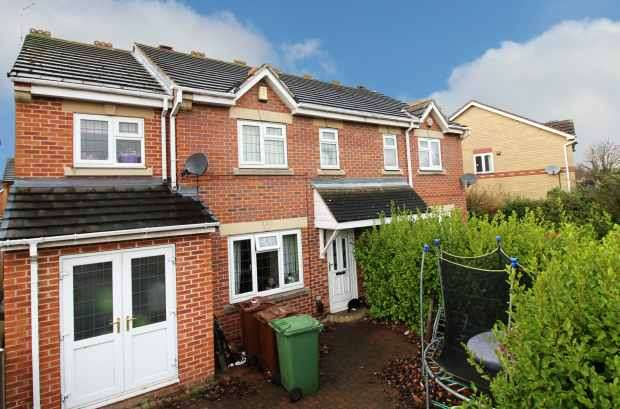 4 Bedrooms Semi Detached House for sale in Tennyson Way, Pontefract, West Yorkshire, WF8 1LD