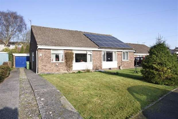 2 Bedrooms Semi Detached Bungalow for sale in Foxbury Close, Frome