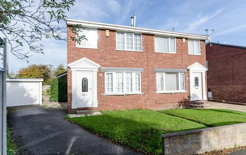 3 Bedrooms Semi Detached House for sale in Eastfield Drive, Pontefract