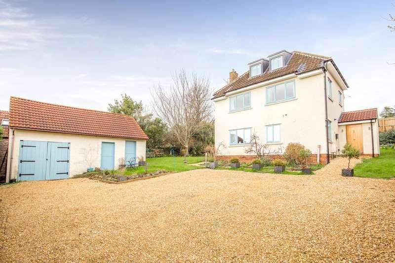 3 Bedrooms Detached House for sale in Hannahs Lane, Westbury Sub Mendip
