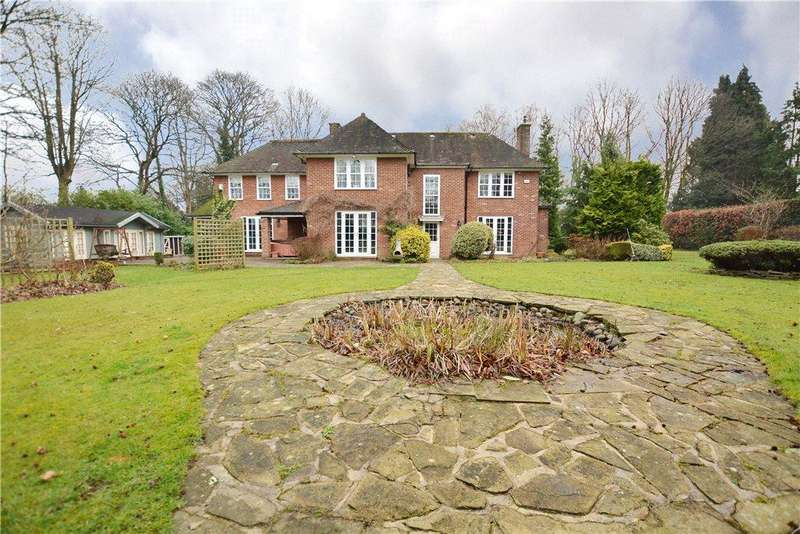 5 Bedrooms Detached House for sale in Merry End, The Tower Drive, Pool in Wharfedale, Otley, West Yorkshire