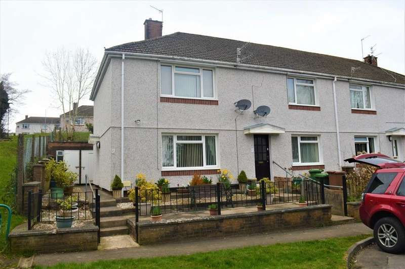 2 Bedrooms Flat for sale in Hillside View, Bargoed