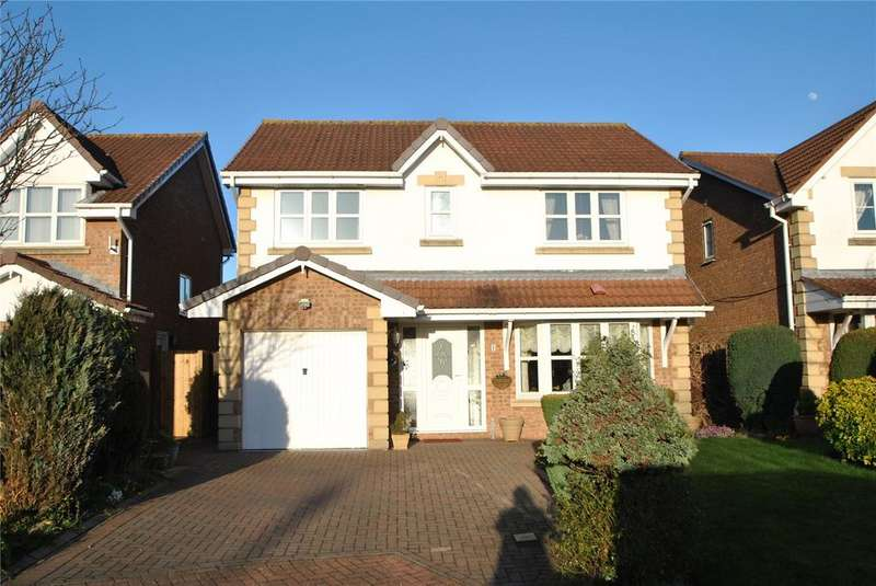 4 Bedrooms Detached House for sale in Connaught Close, Philadelphia, Houghton le Spring, Tyne and Wear, DH4