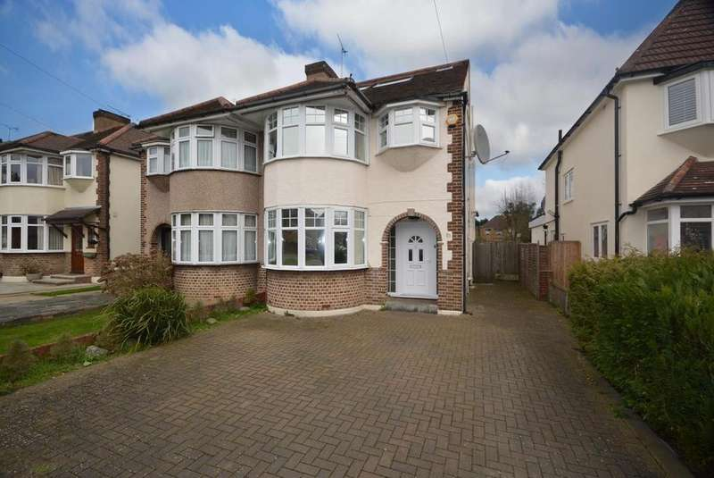 4 Bedrooms Semi Detached House for sale in Redden Court Road, Harold Wood, Romford, RM3