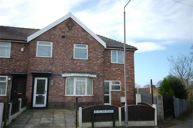 5 Bedrooms End Of Terrace House for sale in Allan Road, Haresfinch, St Helens, Merseyside