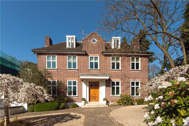 6 Bedrooms Detached House for sale in HAMPSTEAD LANE, HAMPSTEAD, N6