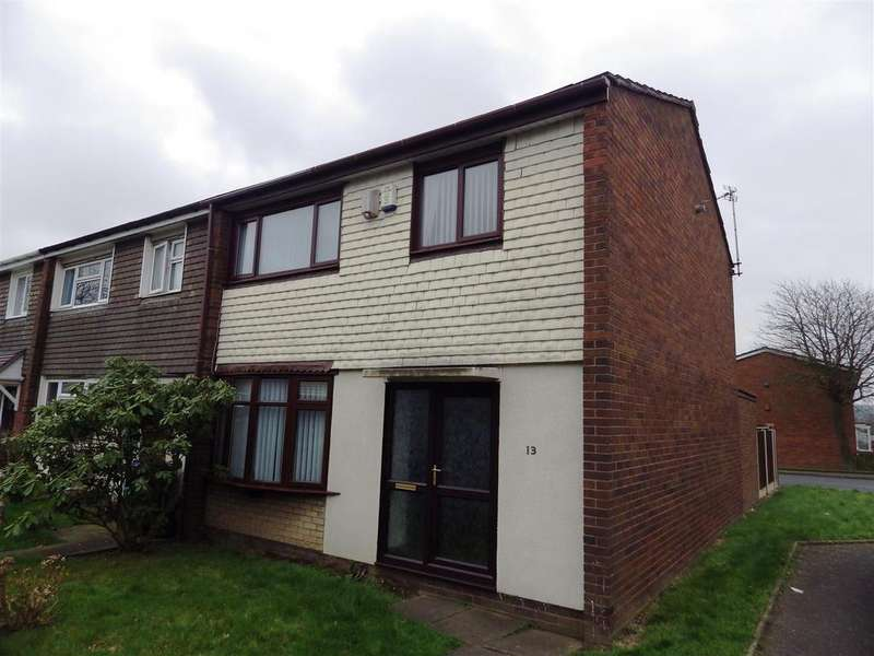 3 Bedrooms End Of Terrace House for sale in Blakedown Way, Oldbury