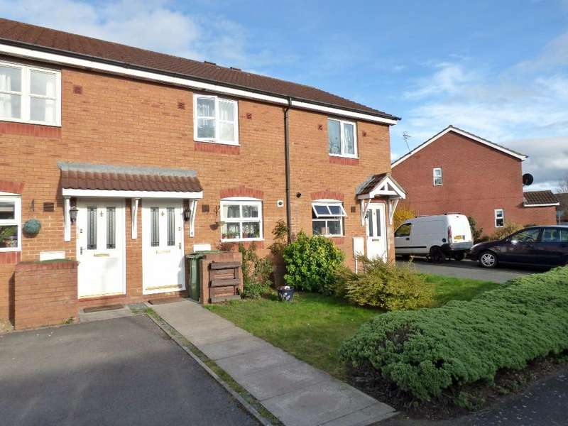 2 Bedrooms Terraced House for sale in Kings Crescent, College Estate, Hereford
