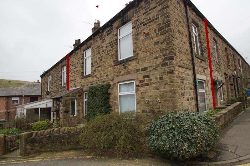 2 Bedrooms Terraced House for sale in Denshaw Rd, Delph OL3