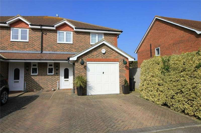 3 Bedrooms Semi Detached House for sale in 4 Tamarisk Gardens, BEXHILL-ON-SEA, East Sussex