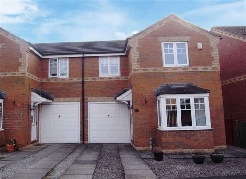 2 Bedrooms Semi Detached House for sale in Aldgrove Way, Darlington