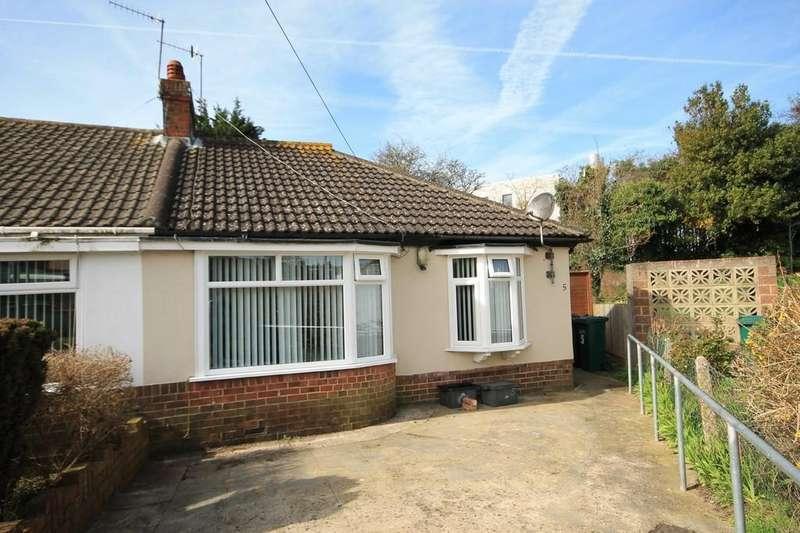 2 Bedrooms Semi Detached Bungalow for sale in Garden Close, Portslade
