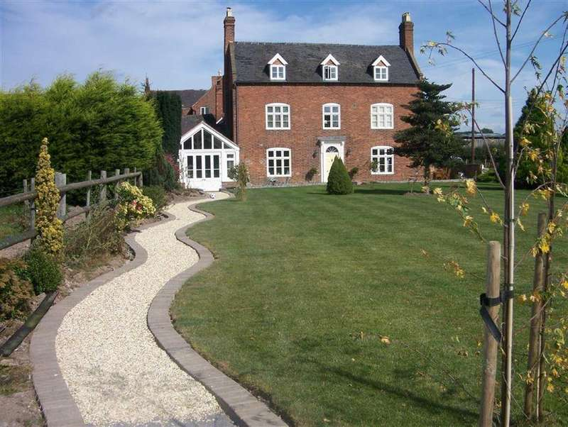 4 Bedrooms Link Detached House for sale in Atcham, Shrewsbury