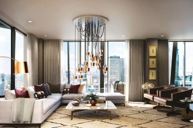 2 Bedrooms Flat for sale in DOLLAR BAY POINT, CANARY WHARF, E14