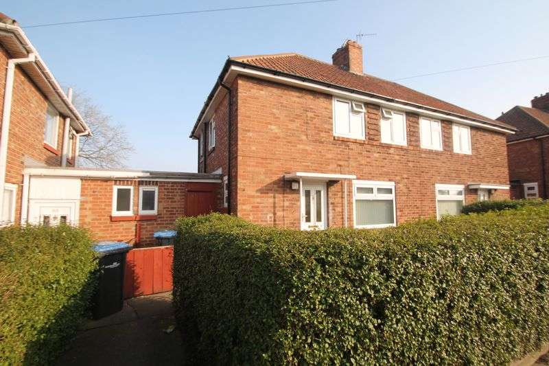 2 Bedrooms Semi Detached House for sale in Carisbrooke Avenue, Thorntree
