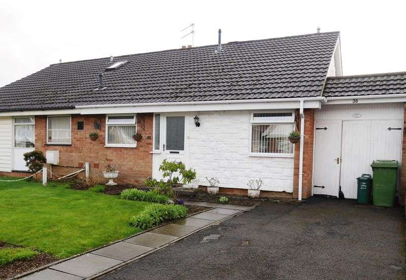 2 Bedrooms Semi Detached Bungalow for sale in Greenlands Road, LLantrisant, CF72 8QD