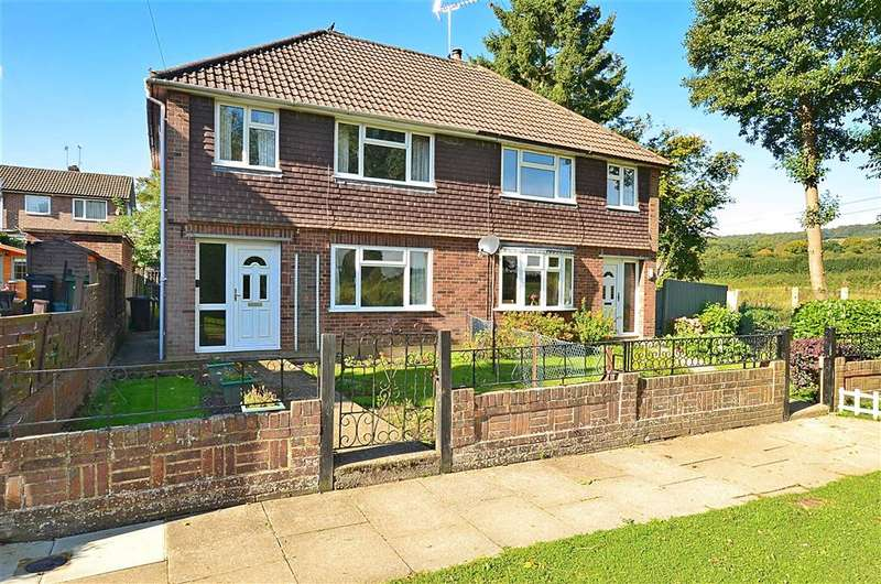 3 Bedrooms Semi Detached House for sale in Watson Road, Westcott, Dorking, Surrey