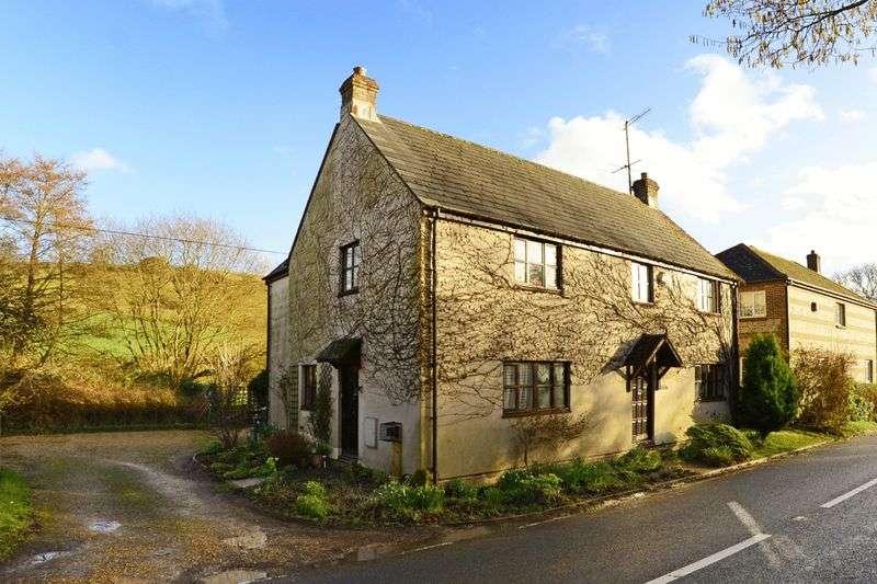 4 Bedrooms Detached House for sale in Godmanstone, Dorchester, DT2