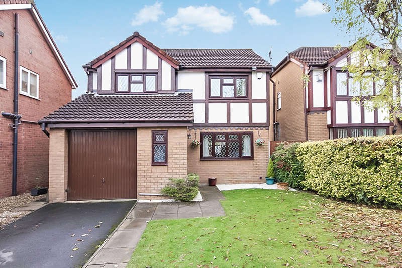 4 Bedrooms Detached House for sale in Ashdown Close, Southport