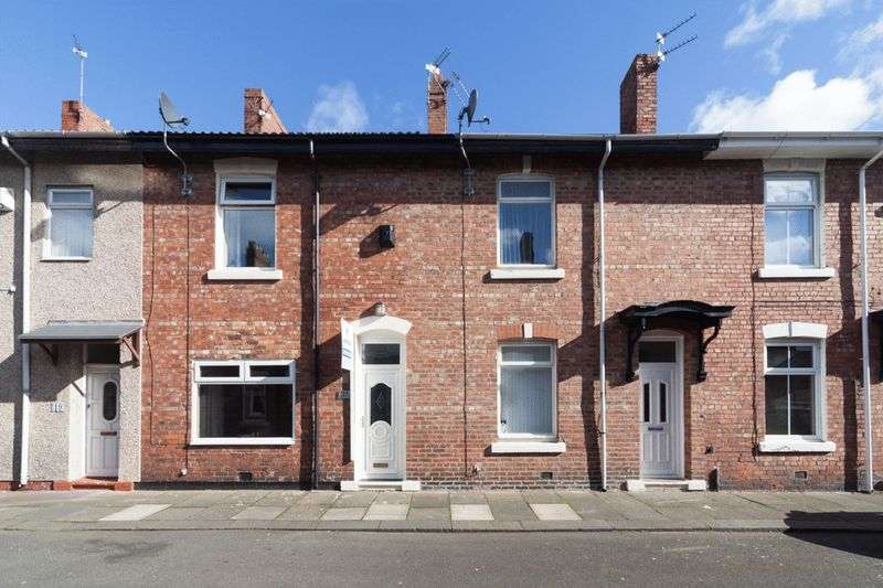 2 Bedrooms Terraced House for sale in Maughan Street, Blyth