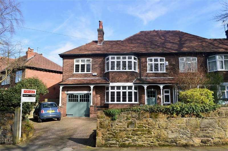 5 Bedrooms Semi Detached House for sale in Grosvenor Road, Oxton, CH43
