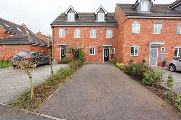 4 Bedrooms Town House for sale in Talbot Way, Nantwich, CW5