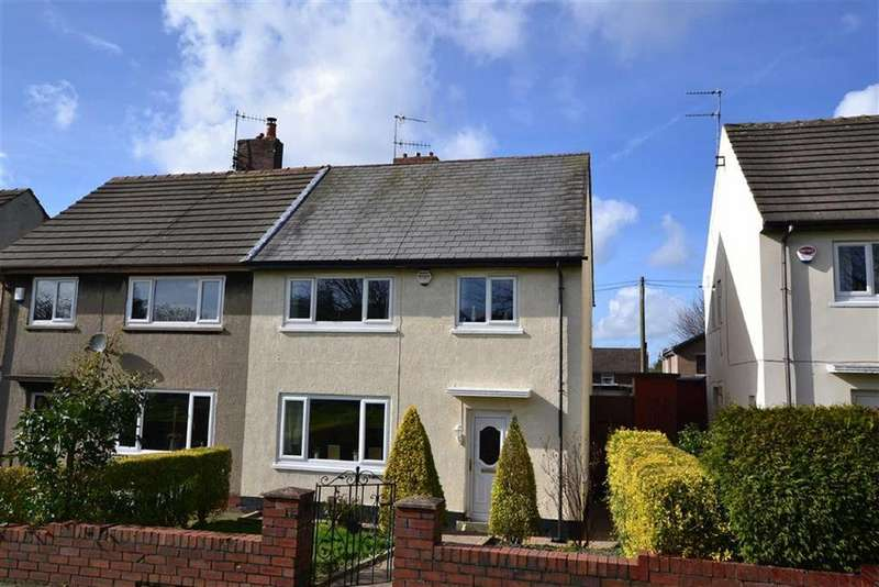 3 Bedrooms Semi Detached House for sale in Montgomery Grove, Burnley, Lancashire