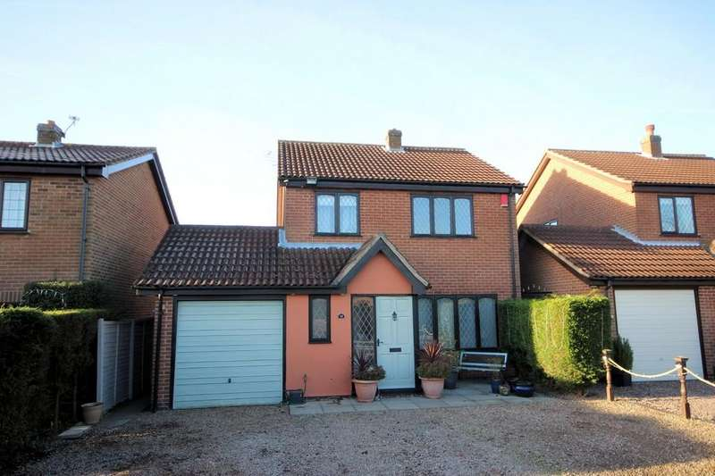 3 Bedrooms Detached House for sale in Thorntop Close, Blackfordby
