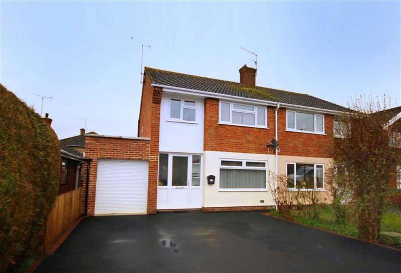 3 Bedrooms Semi Detached House for sale in Farmfield Road, Warden Hill, Cheltenham, GL51