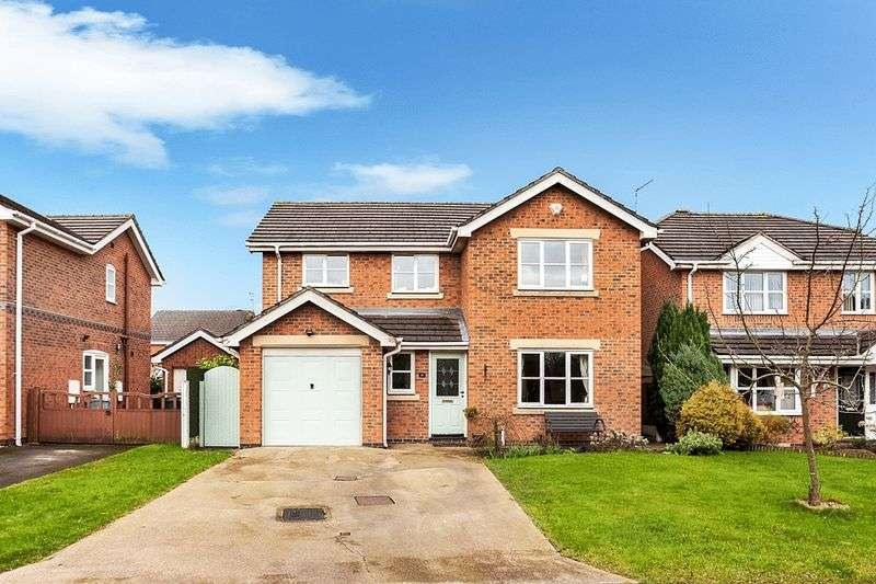 4 Bedrooms Detached House for sale in Telford Close, Congleton