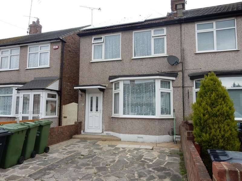 3 Bedrooms Terraced House for sale in Western Avenue, Dagenham East, Essex, RM10 8UD