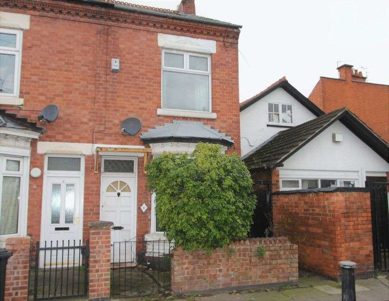 2 Bedrooms Terraced House for sale in Duxbury Road, Leicester, LE5 3LR