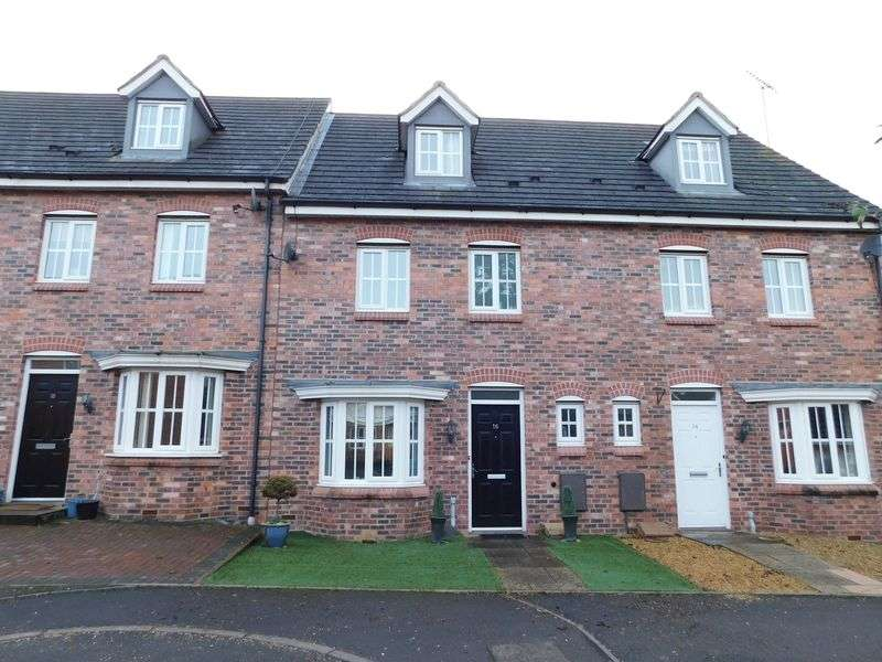 4 Bedrooms House for sale in Castle House Drive, Castle House Gardens, Stafford