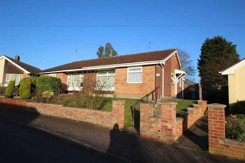 2 Bedrooms Semi Detached Bungalow for sale in Landsdown Road, Sudbury