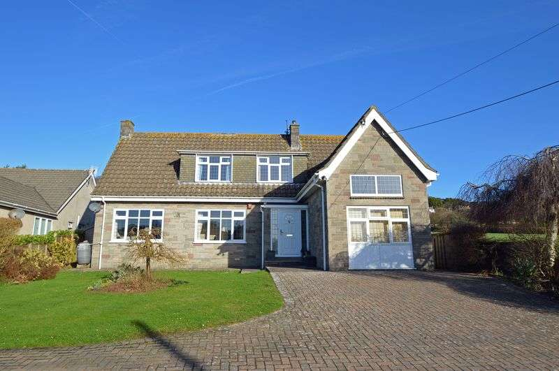 4 Bedrooms Detached House for sale in Open countryside views in Tickenham