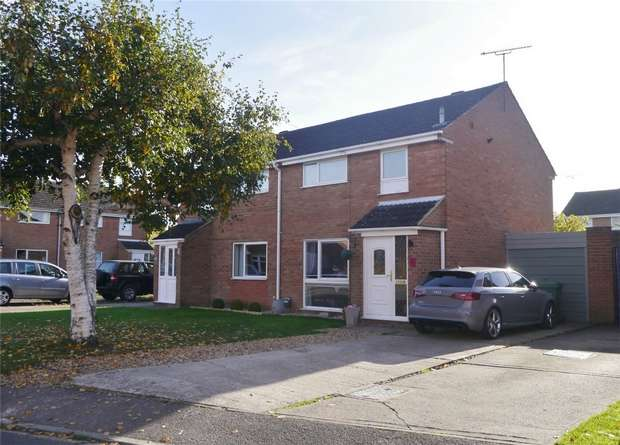 3 Bedrooms Semi Detached House for sale in Plantation Crescent, Bredon, Tewkesbury