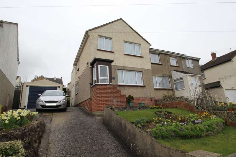 3 Bedrooms Semi Detached House for sale in Oakland Road, Newton Abbot, TQ12