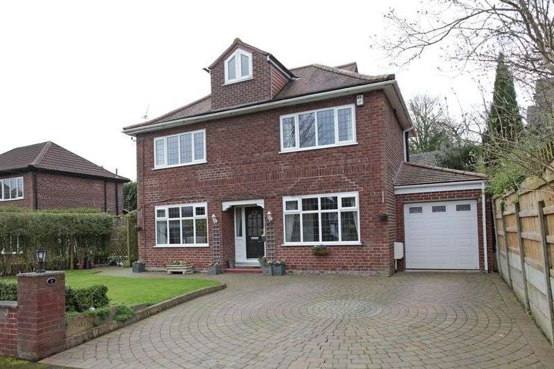 3 Bedrooms Detached House for sale in Bentinck Close, Altrincham