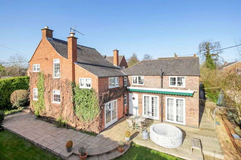 5 Bedrooms Detached House for sale in Baggrave End, Barsby